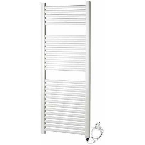 Sèche serviettes électrique blanc thermolimité Ercos Tekno ASTEE | H1500 L600 Z550