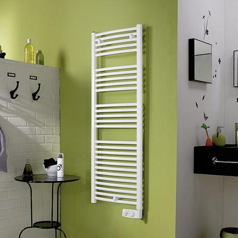 Seche-serviettes électrique Corsaire galbé blanc - 750W