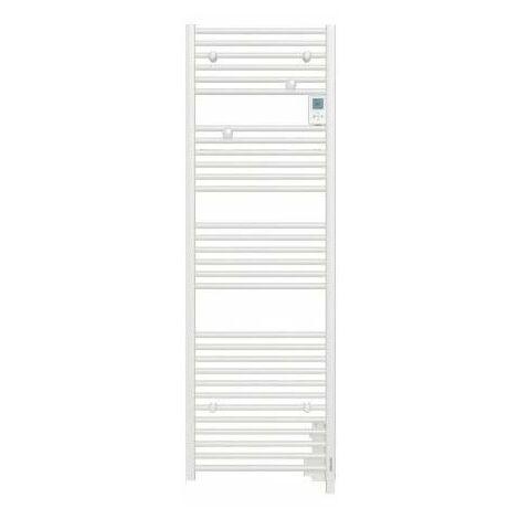 Sèche-serviettes électrique Doris Digital - 1000W - Blanc brillant