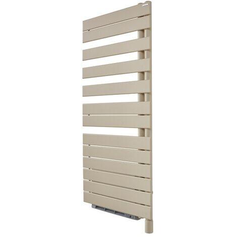 Sèche-serviettes électrique Fassane Spa + Air asymétrique à droite - 500+1000W - Couleurs - White matt - 0556