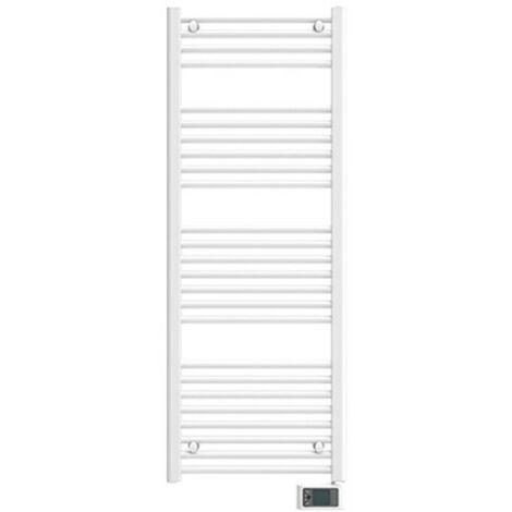 Sèche-serviettes électrique fluide NAPO Etroit Blanc 300W - APPLIMO 0014260TRDR
