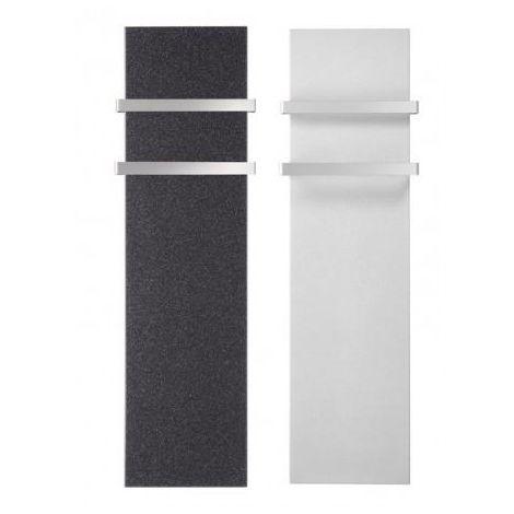 Sèche-serviettes électrique LVI MILO Rock Blanc White 1000W avec barres