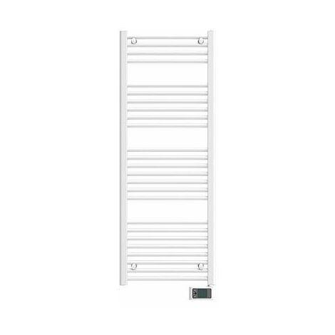 Sèche-serviettes électrique Napo Etroit - Sans soufflerie - 500W - Blanc