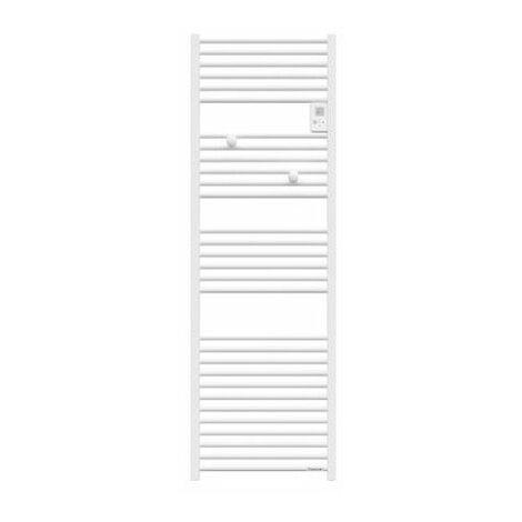 Sèche-serviettes électrique Riva 4 - 1000W - Sans soufflerie - Blanc satin