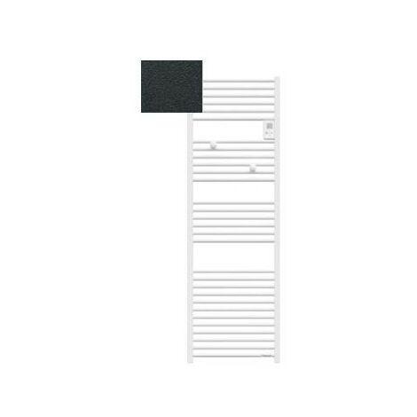 Sèche-serviettes électrique Riva 4 - 1000W - Sans soufflerie - Gris ardoise