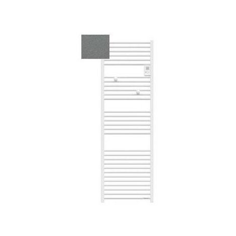 Sèche-serviettes électrique Riva 4 - 1000W - Sans soufflerie - Gris menhir