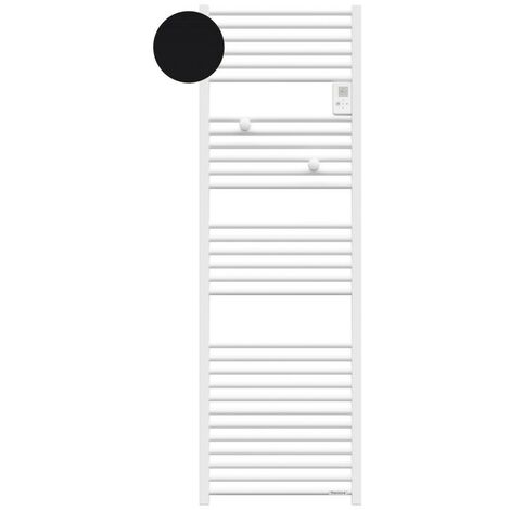 Sèche-serviettes électrique Riva 4 - 1000W - Sans soufflerie - Noir carbone