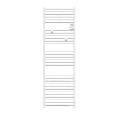 Sèche-serviettes électrique Riva 4 - 500W - Sans soufflerie - Blanc satin