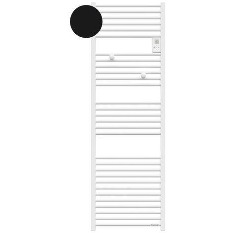 Sèche-serviettes électrique Riva 4 - 750W - Sans soufflerie - Noir carbone