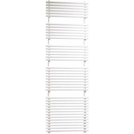 Sèche serviettes hydraulique blanc Ercos Pop | H1800 L600 Z550