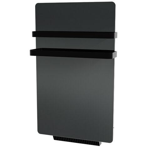 Cayenne radiateur sèche-serviette 500W + soufflerie 900W (1400W) miroir LCD  - Miroir