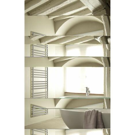 Sèche-serviettes mixte Acova KADRANE SPA MIXTE INOX sans régulation (Blanc - 393/300 W - 150,7 x 45 x 3 cm - Sans régulation)