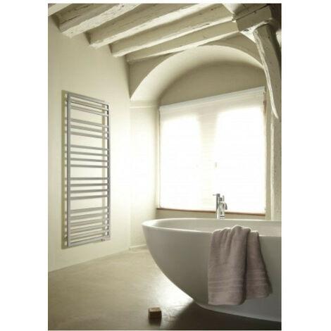 Sèche-serviettes mixte Acova KADRANE SPA MIXTE sans régulation CHROME (Chrome - 443/300 W - 150,7 x 55 x 3 cm - Sans régulation)