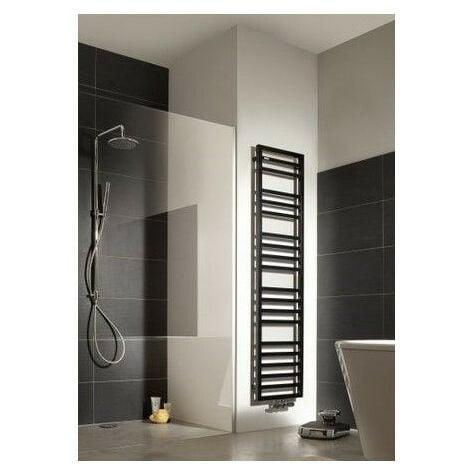 Sèche-serviettes mixte Acova KADRANE SPA MIXTE sans régulation (Couleur voir nuancier Acova - 580/500 W - 125,1 x 55 x 3 cm - Sans régulation)