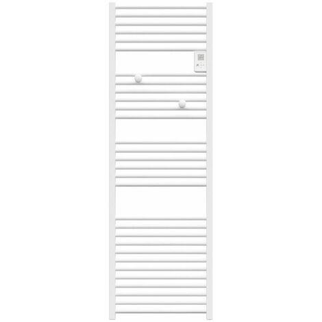 Sèche-serviettes mixte soufflant Doris Digital - 750 + 1000W - Blanc