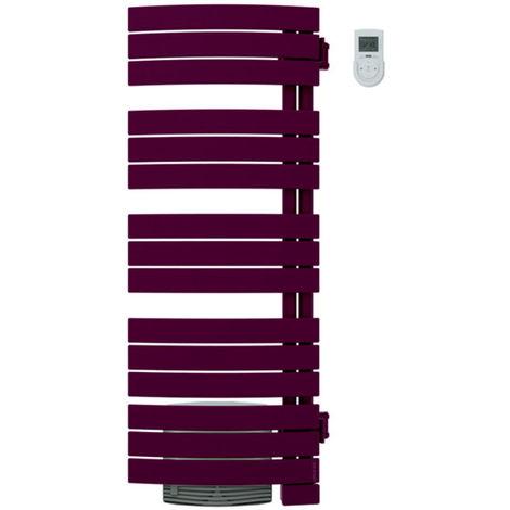 Seche serviettes NEFERTITI int. mixte ventilo 1750W prune