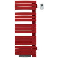 Seche serviettes NEFERTITI int. mixte ventilo 2000W rouge