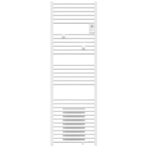 Sèche-serviettes - Riva 4 - avec soufflerie - 1750W - Blanc satin - 471559 - Thermor