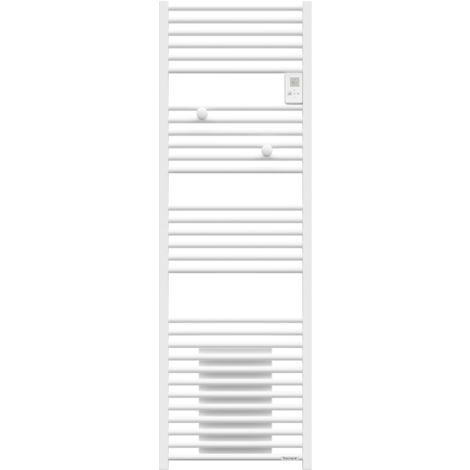 Sèche-serviettes - Riva 4 Mixte - avec soufflerie - 1500W - Blanc satin - 471262 - Thermor