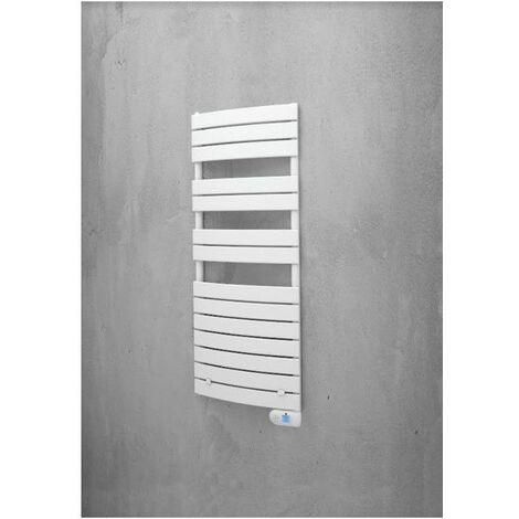 Sèche-serviettes série Aube - Electrique - Avec soufflerie - 700+1000W - Blanc