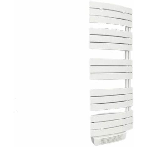 Sèche-serviettes série Lise - Electrique - Avec soufflerie - 700+1000W - Blanc