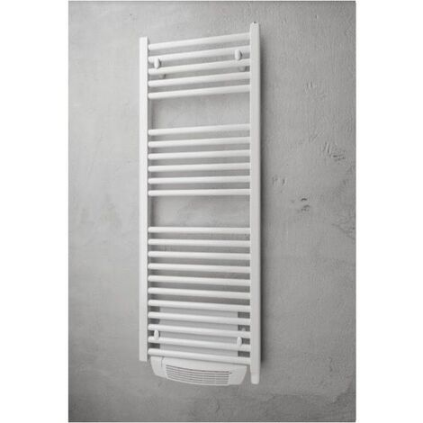 Sèche-serviettes série Myre - Electrique - Avec soufflerie - 700+1000W - Blanc