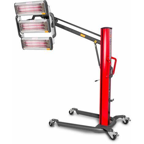 Sécheur de peinture infrarouge professionnel mobile 3300 W MW-Tools LD3P