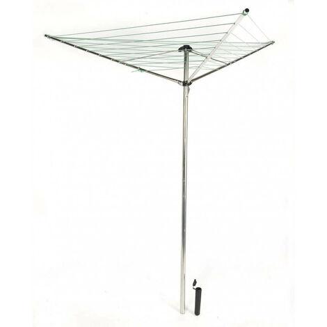 Séchoir à linge parapluie pliable avec support