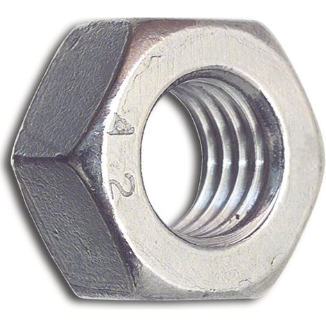 Sechskantmuttern 2 mm DIN 934 M 2  Edelstahl A2 50 Stk.