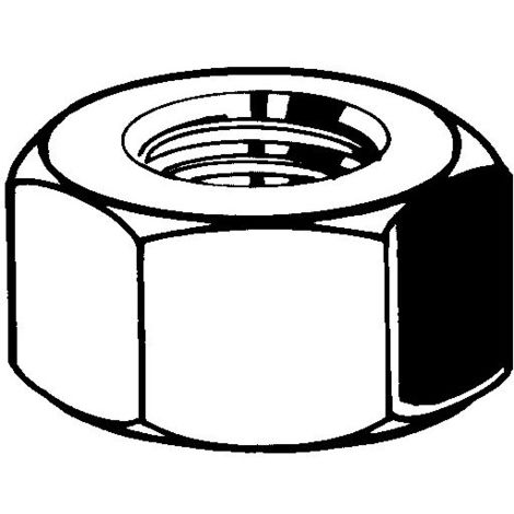 Sechskantmuttern M10 Stahl feuerverzinkt |8| DIN 934 100 Stk