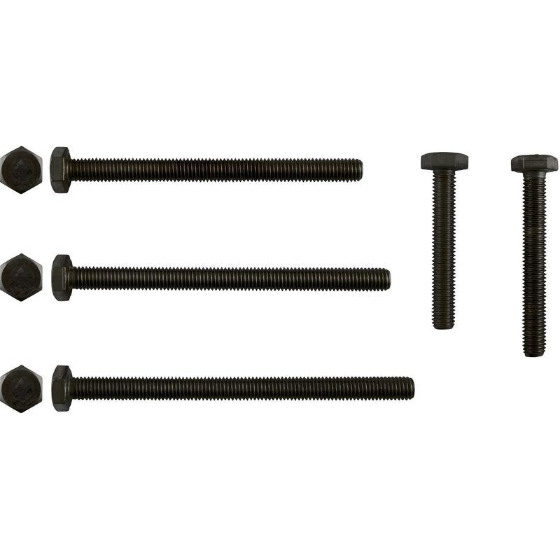 2 Stk Sechskantschraube DIN 933 12.9 M8 x 50