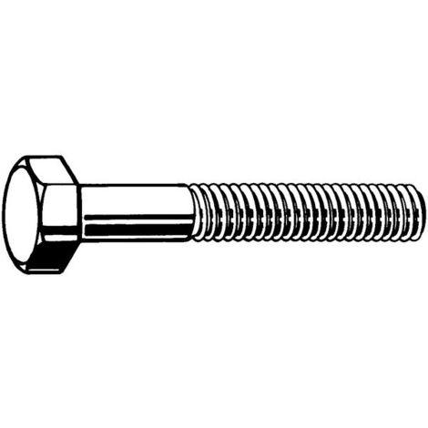 Sechskantschrauben M12 x 280 Stahl verzinkt 8.8 DIN 931 25 Stk