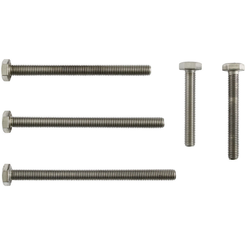 Zylinderkopfschrauben DIN 912 VPE: 4 St/ück Zylinderschrauben mit Innensechskant M6 x 60 Edelstahl A2 V2A D2D