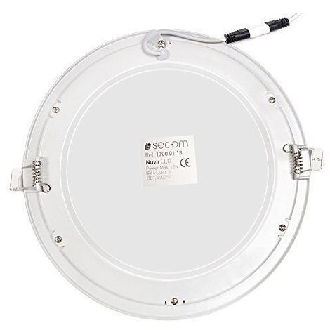 Secom 1700011884 - Downlight LED 18W 240V 4000K - Nuva Eco recessed