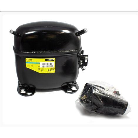 Secop Sc21G R134A Compresseur à haute température HLBP 20,95cm3
