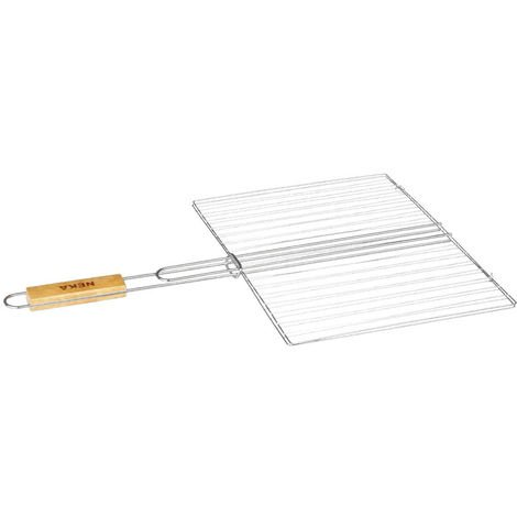 Secret de Gourmet - Grille de barbecue rectangulaire 30x40 cm