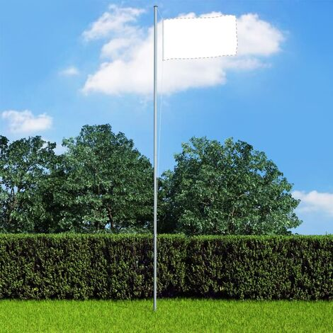 Sectional Flagpole Aluminium 6.2 m