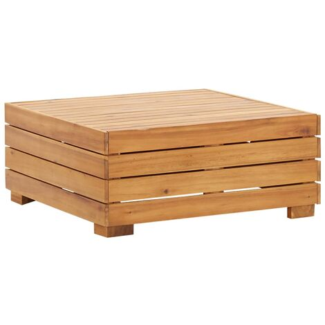 Sectional Table 1 pc Solid Acacia Wood