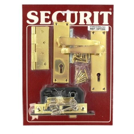Securit DP7200 Victorian External Door Pack Pack Of 1 Set