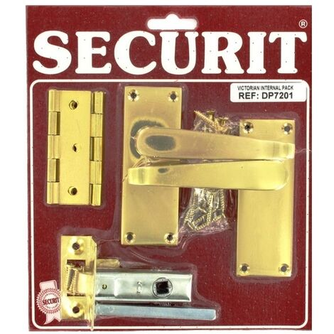 Securit DP7201 Victorian Internal Door Pack Pack Of 1 Set