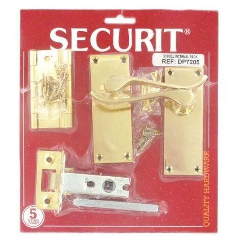 "main image of ""Securit DP7205 Scroll Internal Door Pack Pack Of 1 Set"""