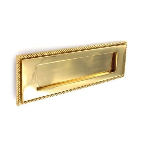 """Securit S2130 Georgian Letter Plate 10"""" x 3"""" 250mm Pack Of 1"""