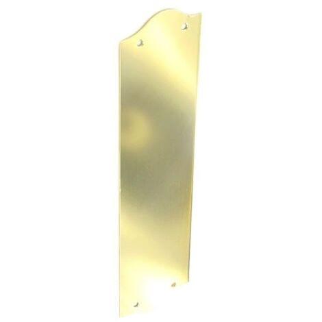 Securit S2243 Victorian Light Regency Finger Plate 300mm Pack Of 1