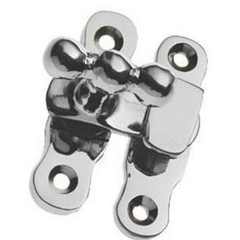 Securit S2691 Chrome Showcase Catch Pack Of 1