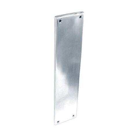 Securit S2935 Chrome Finger Plate 300mm Pack Of 1