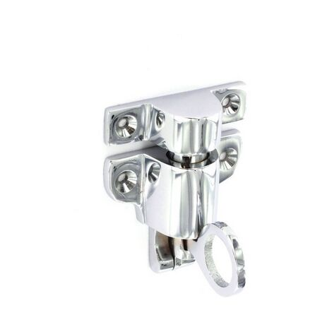 Securit S3011 Chrome Fanlight Catch 65mm Pack Of 1