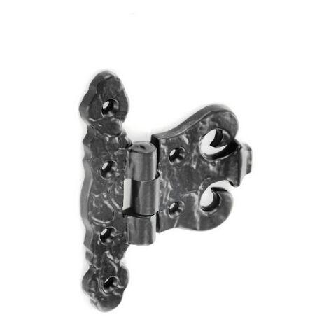 Securit S3336 Black Antique Fancy Hinges 280G 100mm Pack Of 1 Pr
