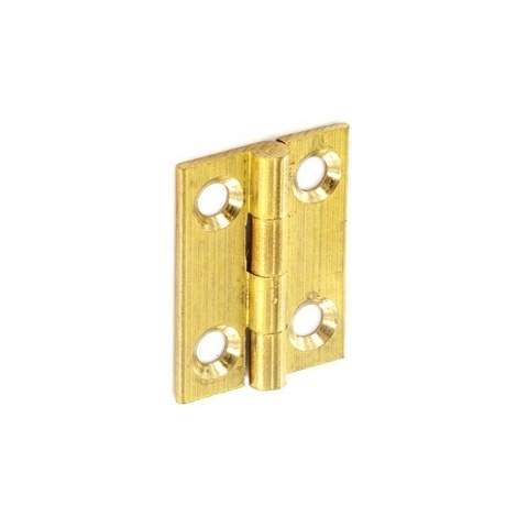 Securit S4203 Brass Butt Hinges Self Colour 50mm Pack Of 1 Pr