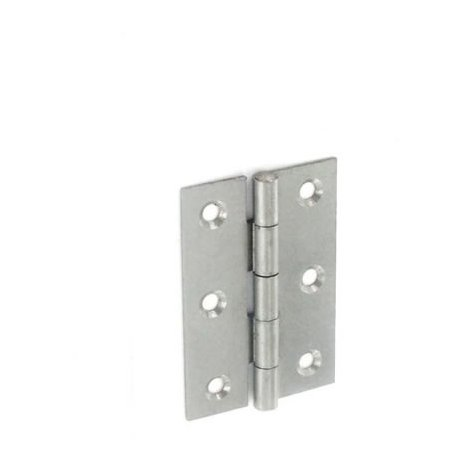Securit S4315 Steel Butt Hinges Self Colour 75mm Pack Of 1 Pr