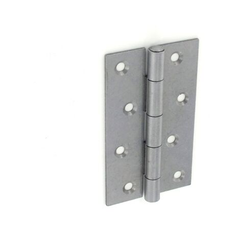 """main image of """"Securit S4325 5050 Steel Narrow Butt Hinges Self Colour 125mm Pack Of 1 Pr"""""""